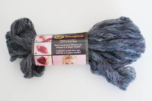 pre-knit yarn