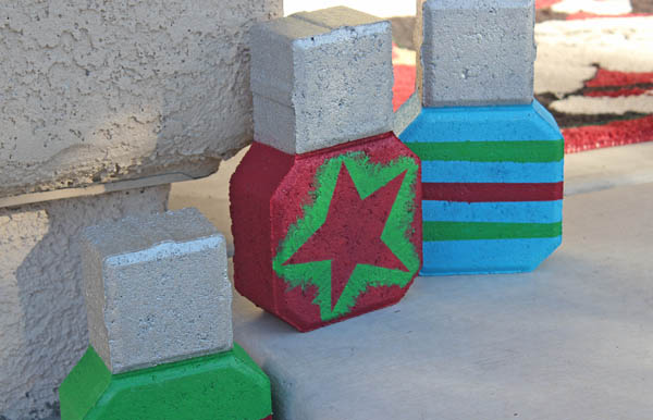 Ornament Decor made from Bricks