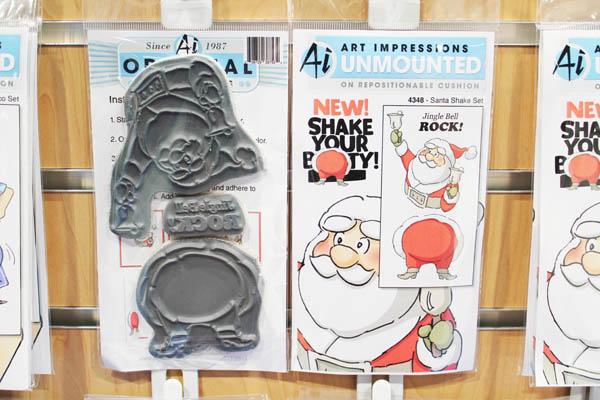 Art Impressions Santa Stamp