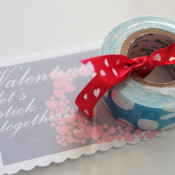 Mini Duck Tape Valentine