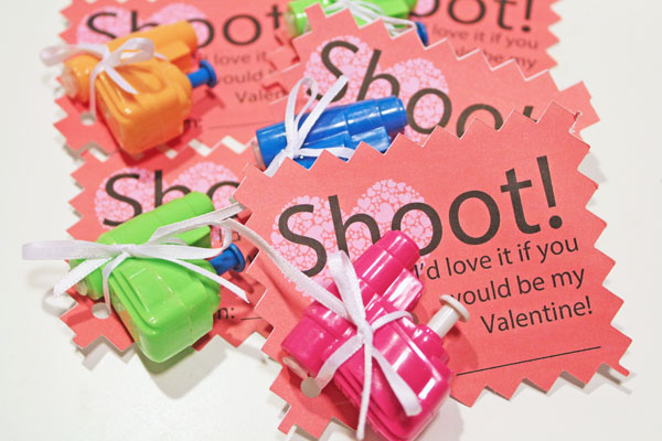 Shoot Valentine Cutable Printable