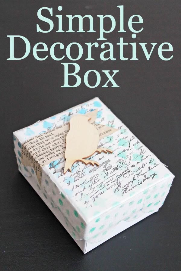 Simple Decorative Box