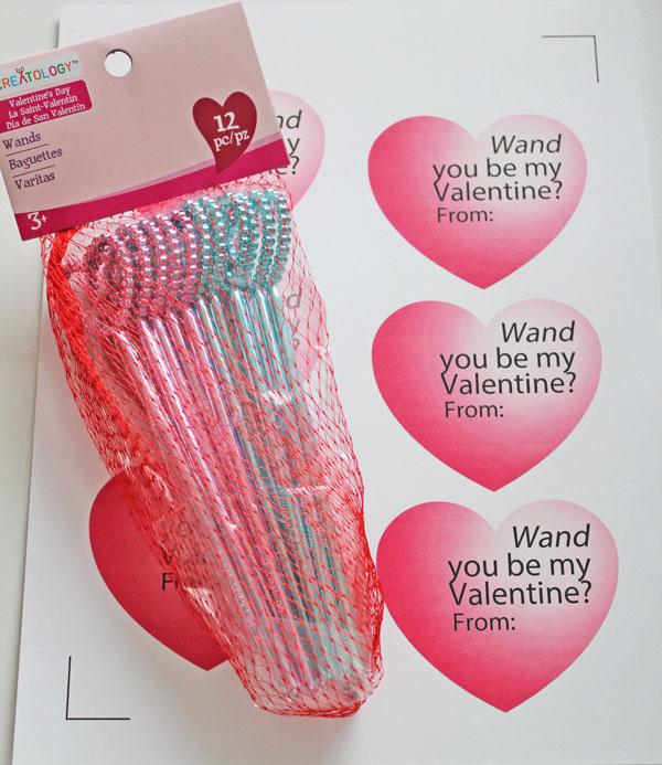 Wand valentine printable