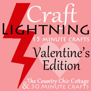 craft lightning valentine edition