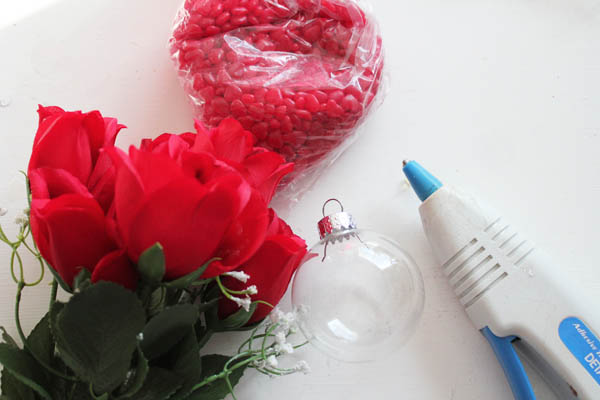 supplies for red hot roses
