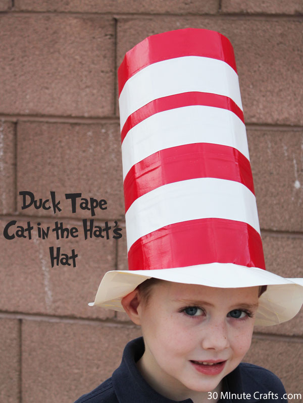 Duck Tape Cat in the Hat's Hat