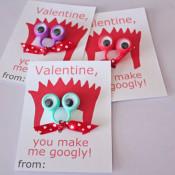 Googly ring valentines