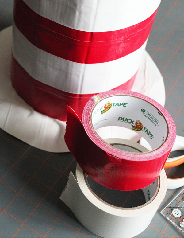 Make the Cat in the Hat's Hat with Duck Tape