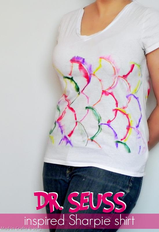 Seuss Inspired Sharpie Shirt