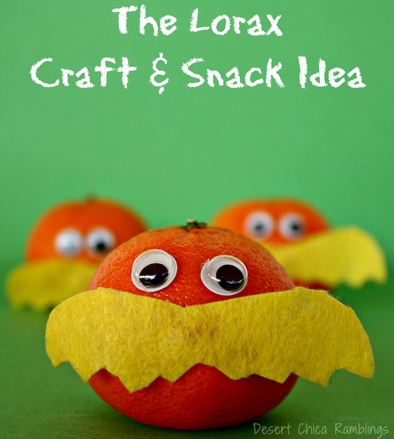 The Lorax Snack
