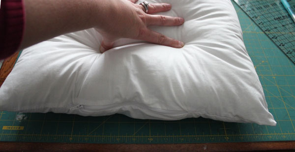 determine pillow size