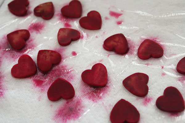 drying hearts