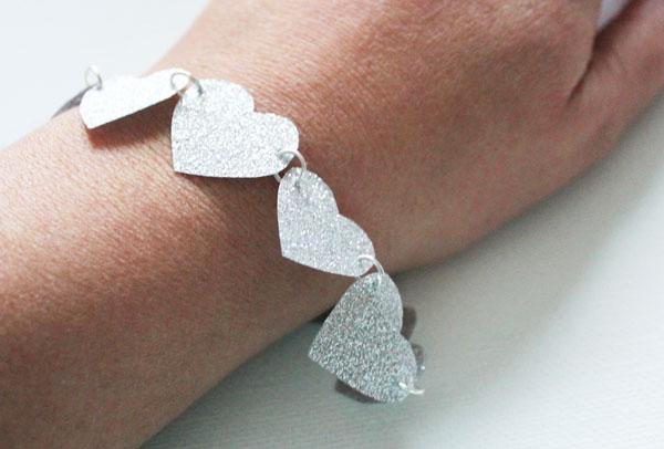 duck tape glitter bracelet