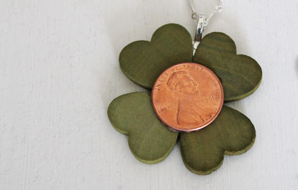 make a lucky penny necklace