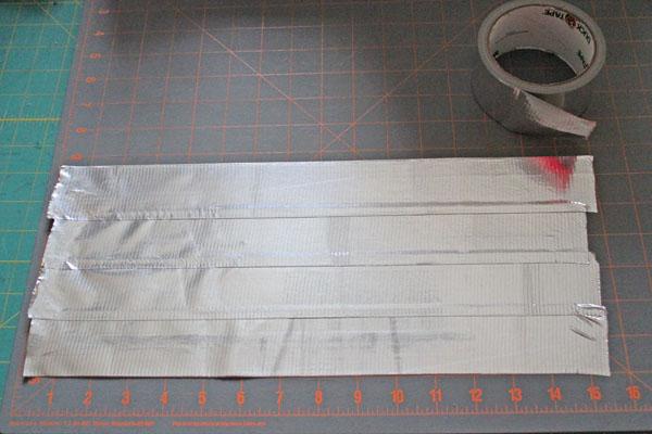 put tape down on mat