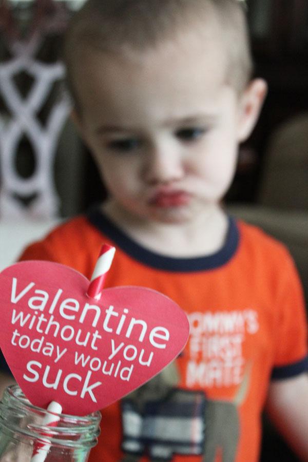 straw valentine