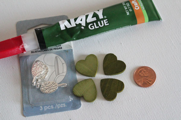 supplies for lucky penny necklace