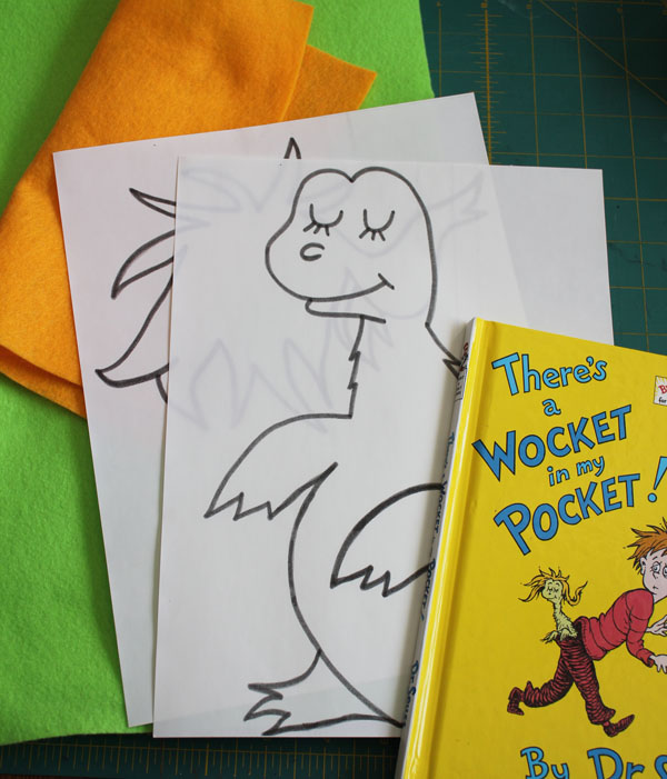 Wocket In My Pocket Craft Dr Seuss Crafts 30 Minute Crafts