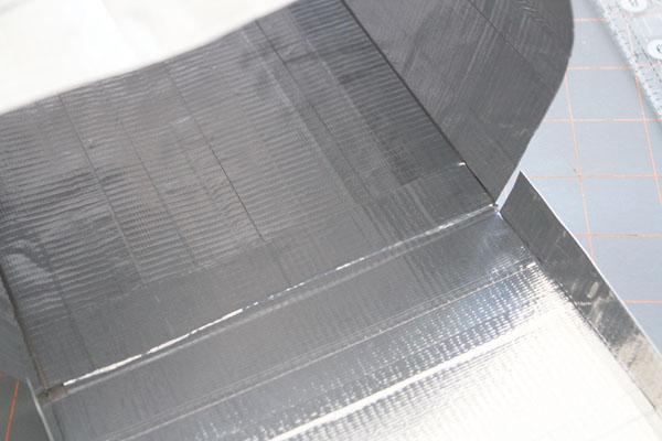 tape door to mailbox