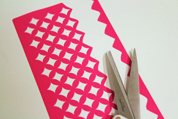 trim down stencil