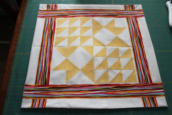 Add border fabric