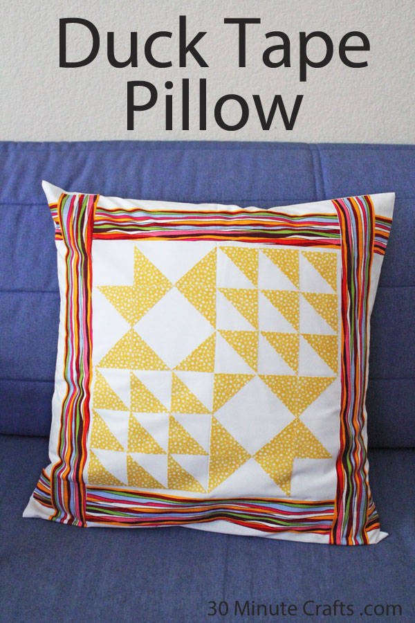 Duck Tape Pillow