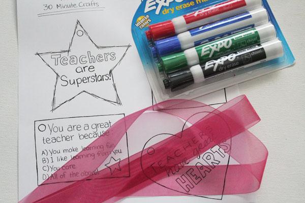Make Teacher Appreciation School Supplies