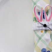 Ribbon Napkin ring by 30 Minute Crafts for The Ribbon Retreat