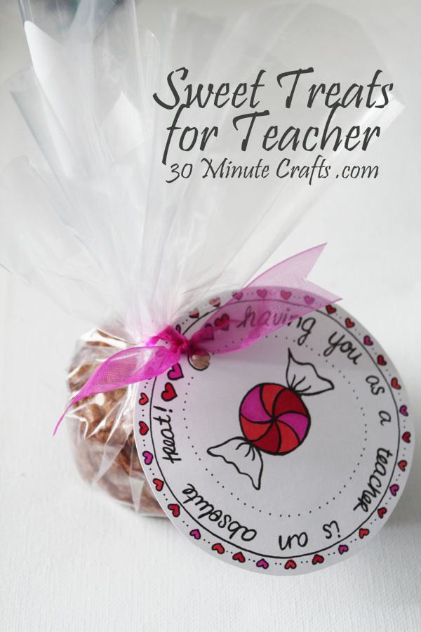 appreciation sweet treats for the teacher | just b.CAUSE