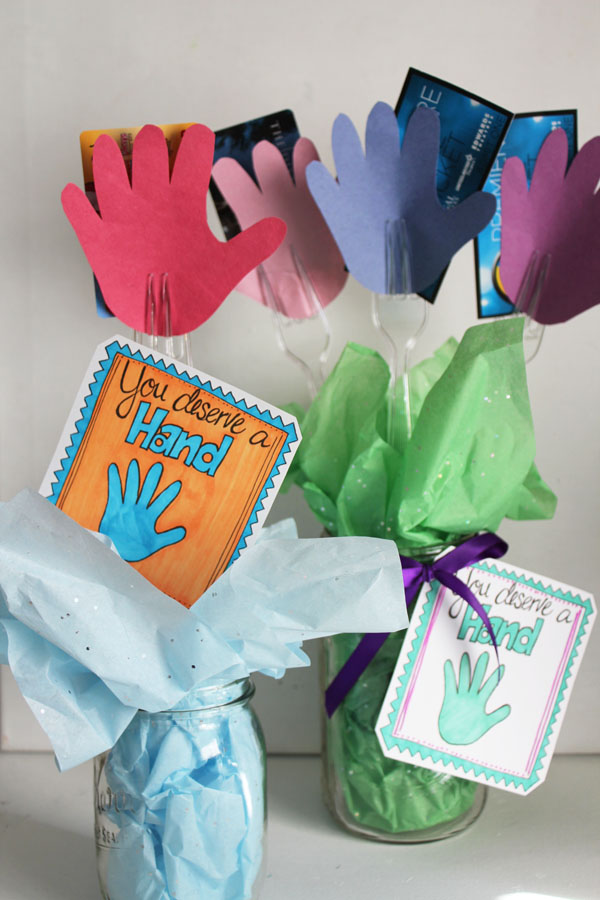 hand bouquets for teacher appreciation day