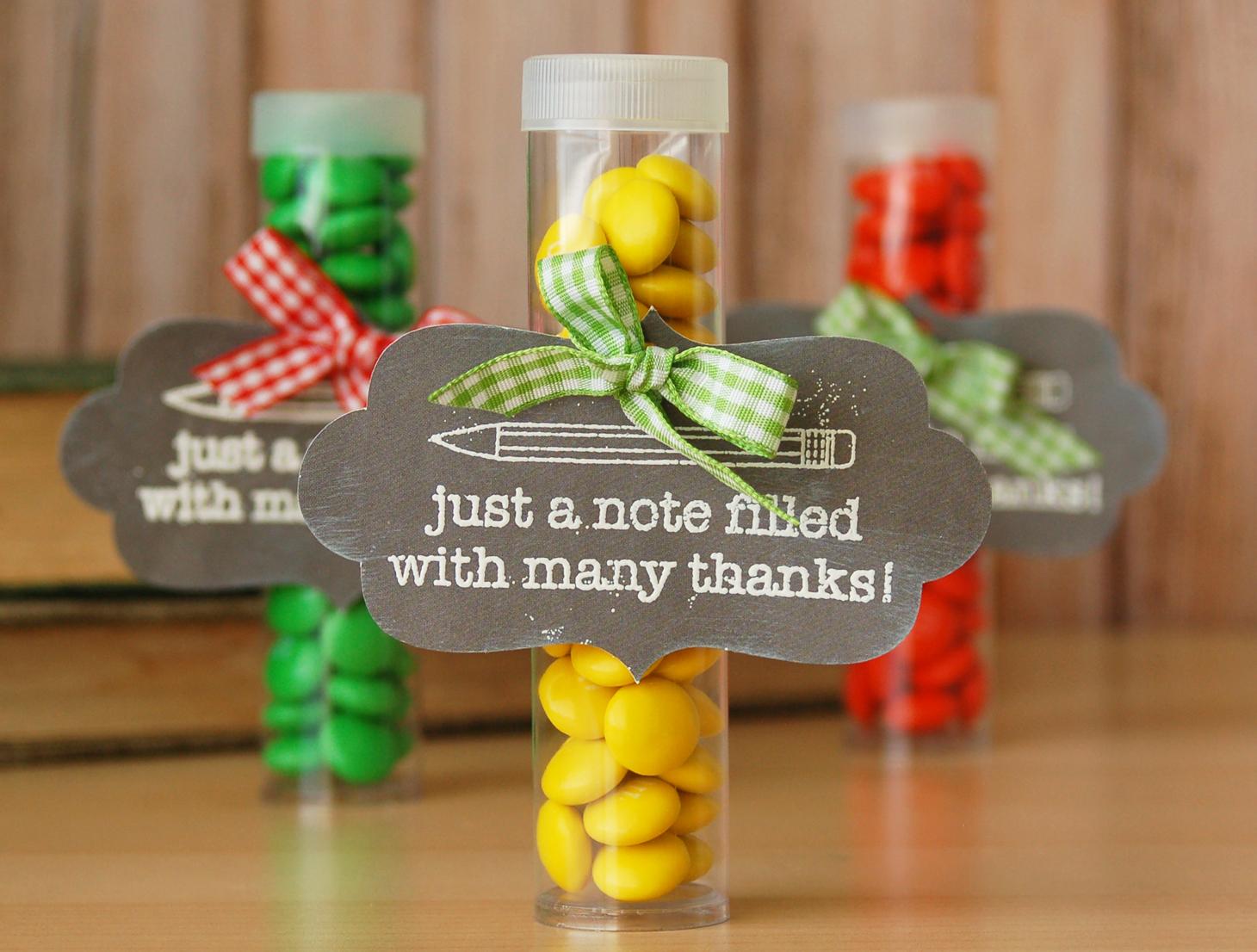 Teacher Appreciation Craft Gift Ideas