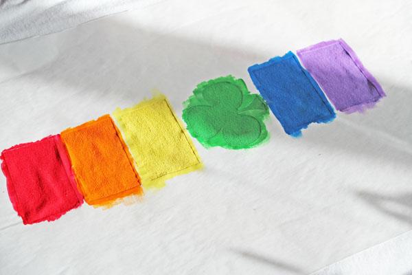 stencil in colors