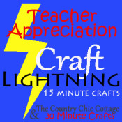 teacher appreciation craft lightning