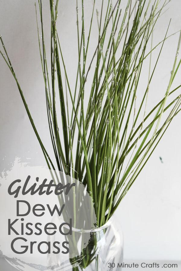 Glitter Dew Kissed Grass