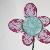 Mod Podge Podgeable Shapes Flower