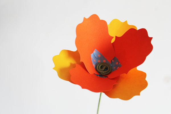 Sizzix poppy