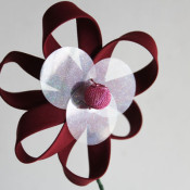 make a bias tape flower