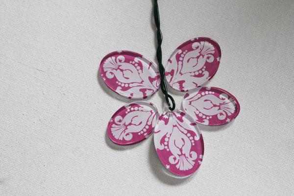 make a flower shape