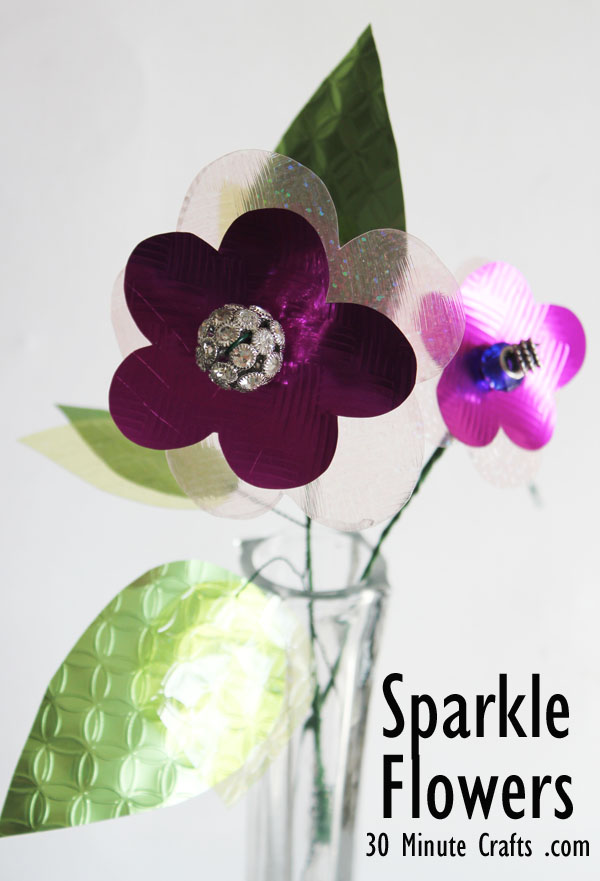 sparkle flower tutorial