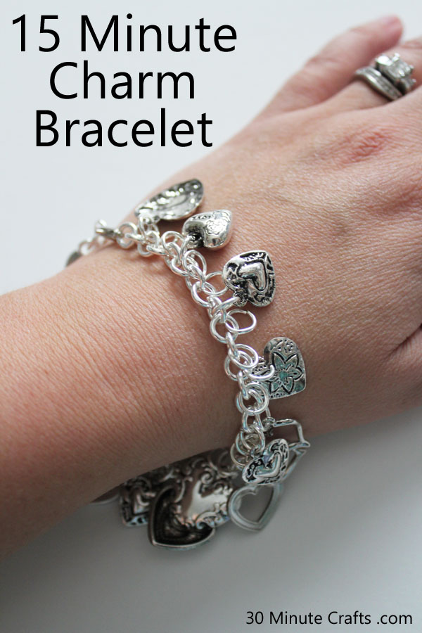 15 Minute Charm Bracelet Tutorial
