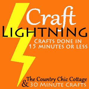 Craft Lightning May button
