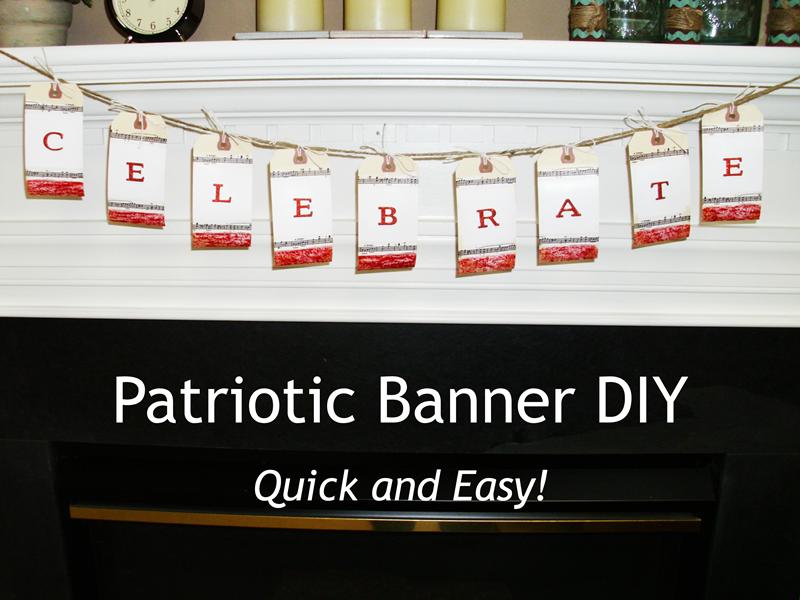 Patriotic Banner DIY