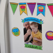Printable Birthday Refrigerator Magnets