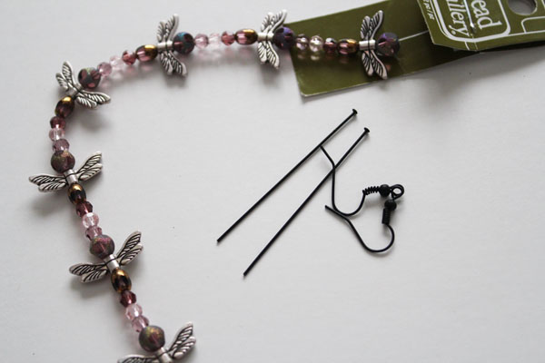 dragonfly earring supplies