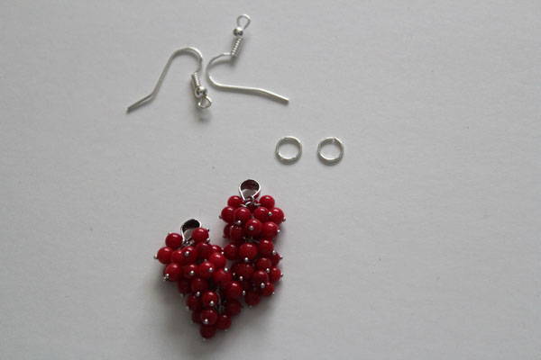 findings for cluster earrings
