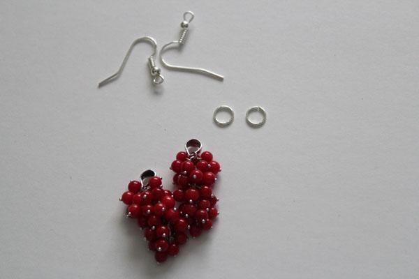 findings for cluster earrings