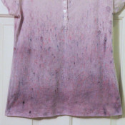 ombre powder dyed shirt