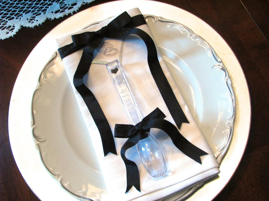 tongs wedding favor