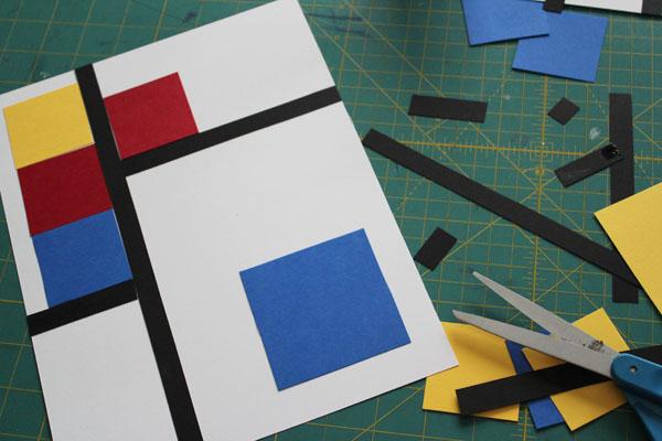 glue down pieces
