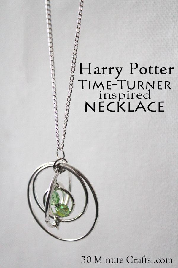 Harry Potter Time Turner Necklace